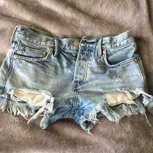 Free People Loving Good Vibrations Shorts Size 24